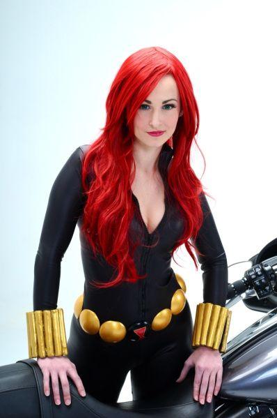 Black widow cosplay nerd love pinterest