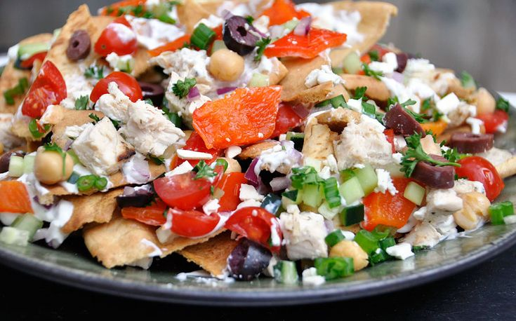 Greek Nachos Recipe | Food - Recipes I Want to try | Pinterest