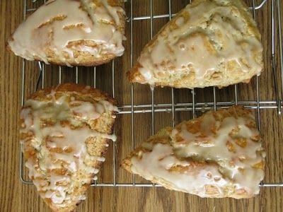 Maple Oatmeal Scones | party ideas | Pinterest