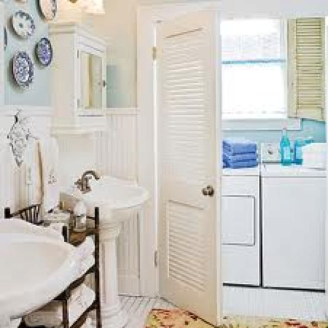Bathroom laundry room combo ideas 2017 2018 best cars for Bathroom and laundry designs