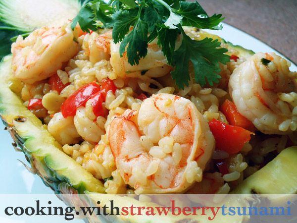 Shrimp & Pineapple Fried Rice | Food | Pinterest