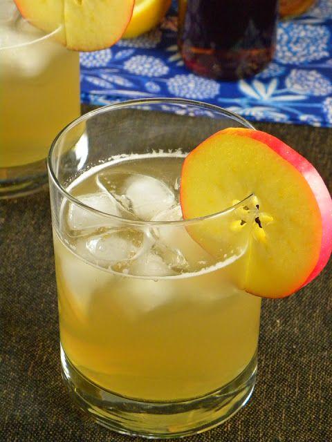 Maple-Bourbon Cider Cocktail | Grown Up Beverages | Pinterest