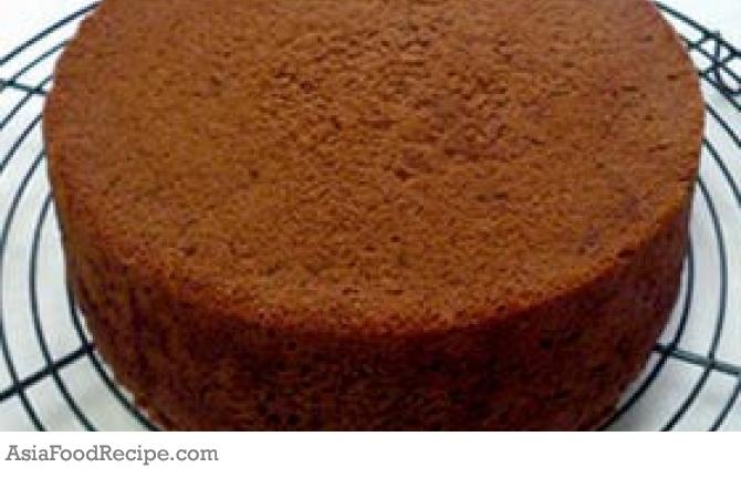 Chocolate sponge cake | Asia Food Recipe | Vietnamese ...