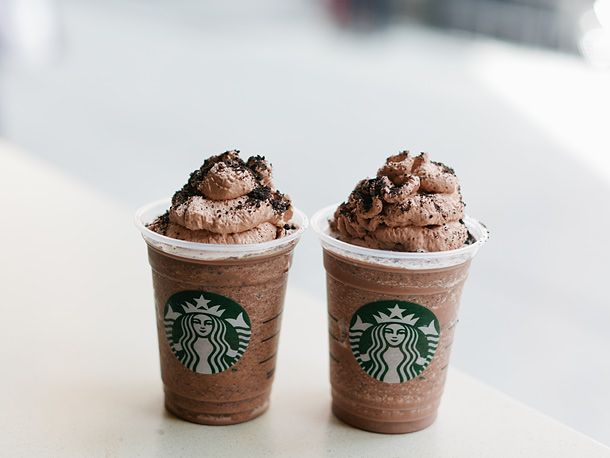 Seeing double? #frappuccinohappyhour