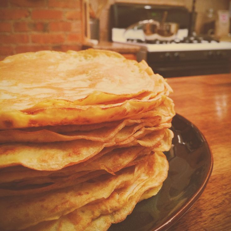"""Grain"""" by Danielle Walker. Used them in a crepe cake with her lemon ..."""