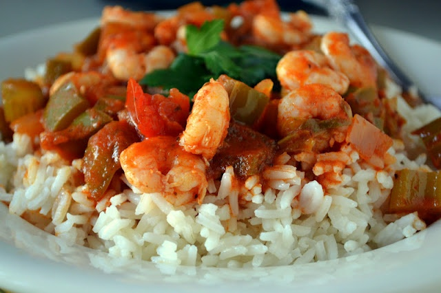 Shrimp Creole - Damn I'm missing New Orleans right now!