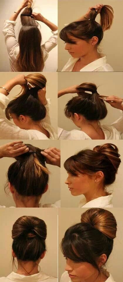 Super cool easy hair do.... Hair Do s Pinterest