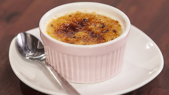 White Chocolate and Raspberry Crème Brûlée from the Cadbury Kitchen ...
