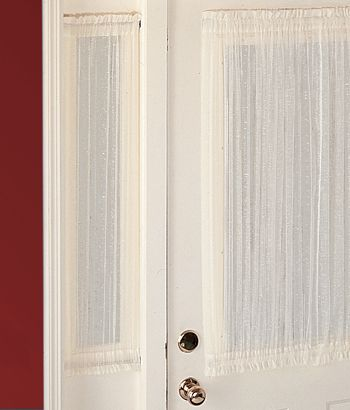 Cotton Voile Sidelight Panel For The Home Pinterest