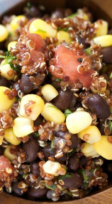 Tomato and Black Bean Quinoa Salad | Recipe