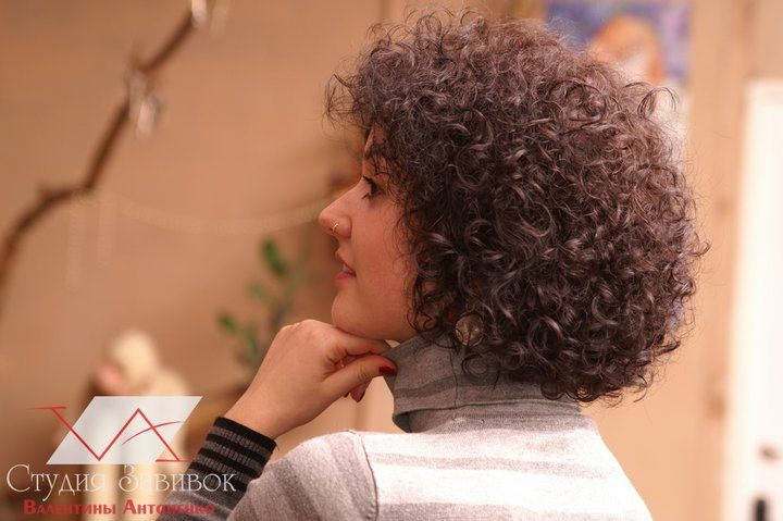 soft short perm style | Curly Hair / Perms | Pinterest