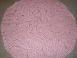 Spiral Columns Baby Blanket Pattern - Knitting Patterns