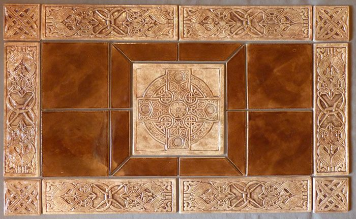 Celtic ceramic tiles