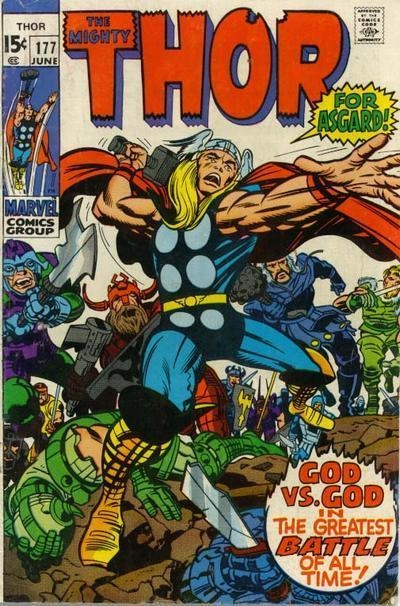 Thor  177 Jack Kirby CoverJack Kirby Cover