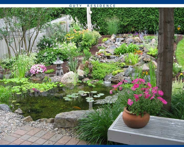 Pinterest garden ideas and outdoor living photograph pond for Garden pond ideas pinterest