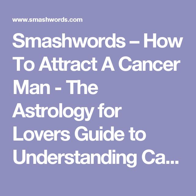 Cancer Woman Cancer Man - A Blissful Loving Match