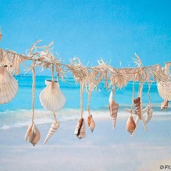 Beach Shell Garland
