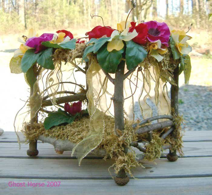 Fairy bed i love this fairy gardens pinterest for Fairytale beds