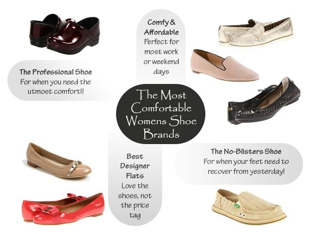 Most Comfortable Womens Shoes