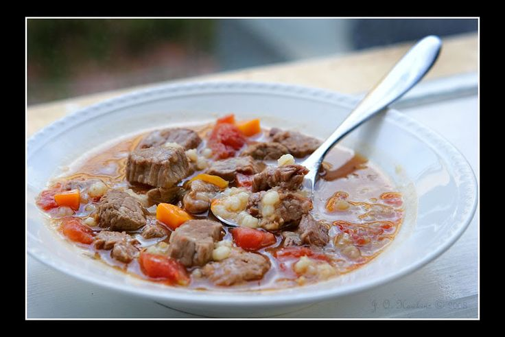 slow cooker beef and barley soup | wifey | Pinterest