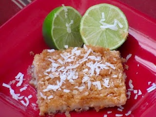 Coconut Lime Crumble Bars | brownies and bars | Pinterest