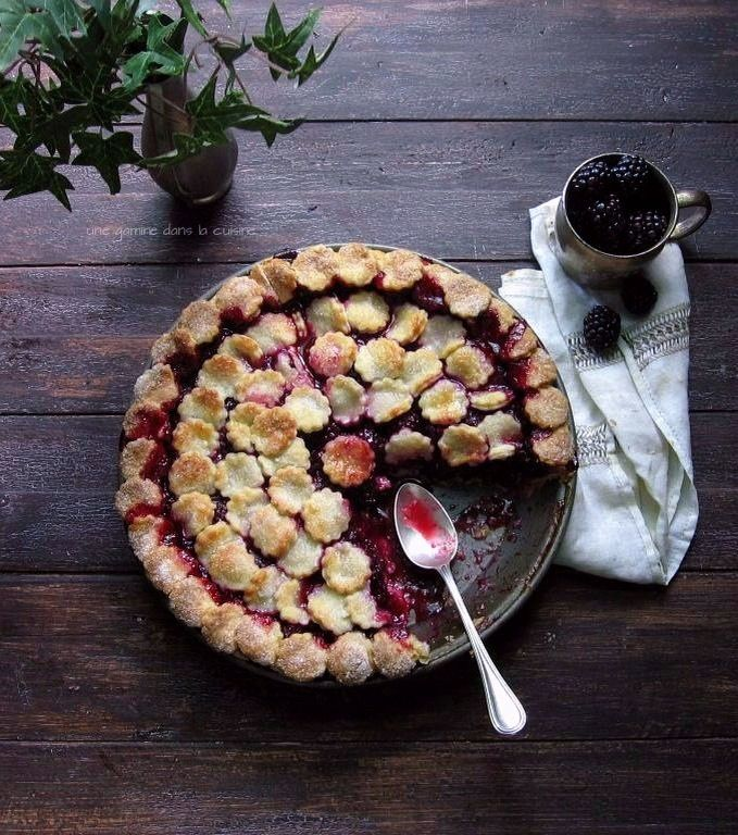 Lady Macbeth Blackberry Pie | une gamine dans la cuisine