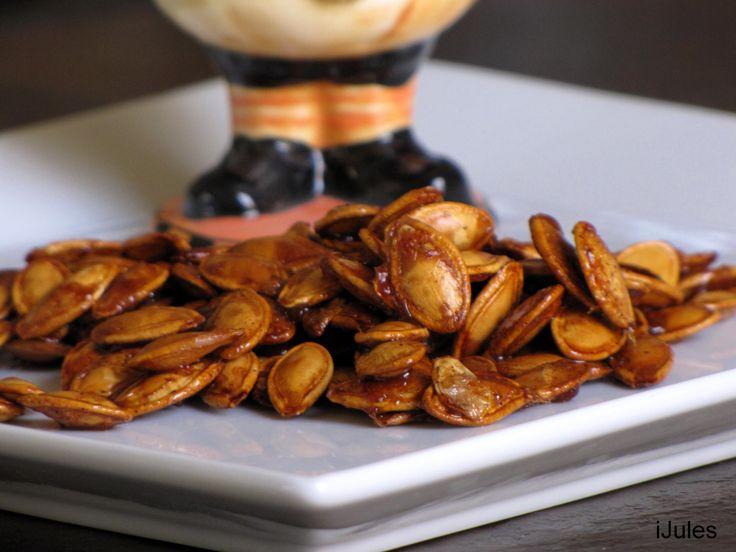 Simple Sweet & Salty Pumpkin Seed Recipe   Everything pumpkin   Pinte ...