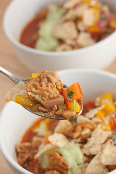 Big Flavors From A Tiny Kitchen: Chipotle Chicken Chili with Flaming ...