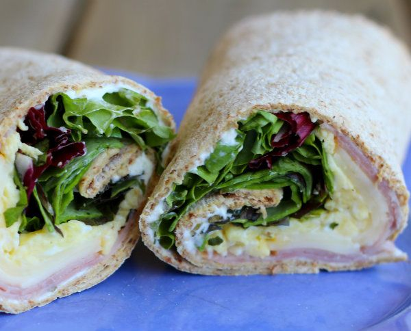 Ham and Egg Wrap with Herbs (easy lunch idea!) | Recipe
