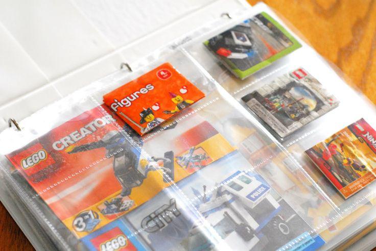 Lego Instruction Book Storage Listitdallas