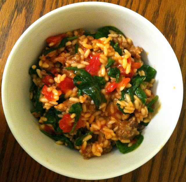 tomato and sausage risotto | Food & Drink | Pinterest