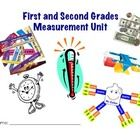 This is a unit I created for my multi-age first and second grade classroom to work on measurement.  It contains 25 slides with a variety of activit...