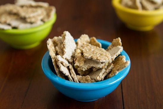 vanilla almond buckwheat crispies   Food Passion Volume II   Pinterest