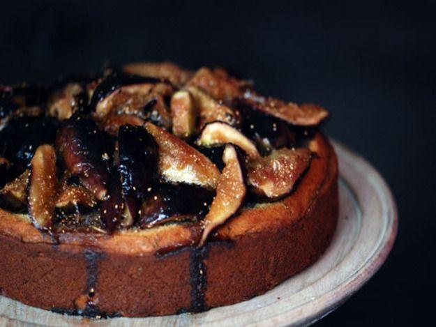 Rosemary, Honey, and Fig Cake - good for Rosh Hashanah dinner?