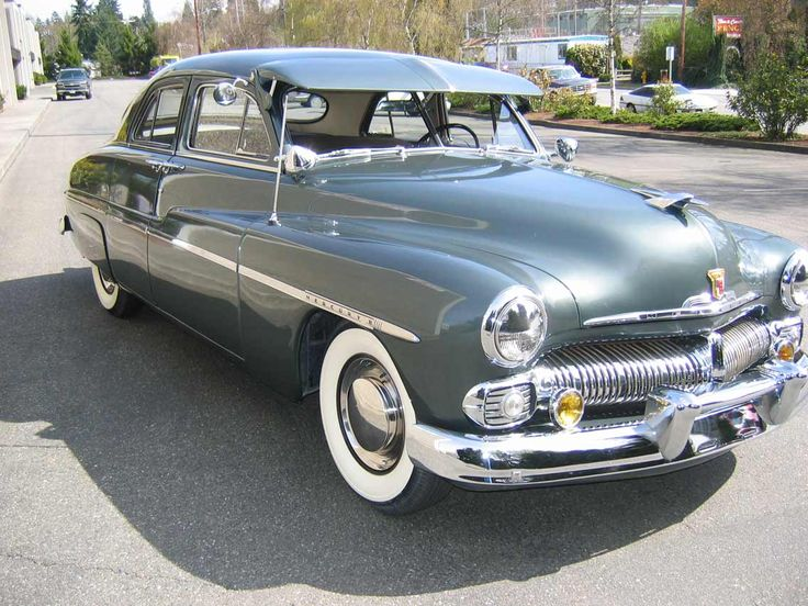 1950 mercury 4 door cars pinterest