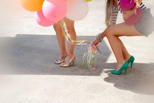 #celebratecolorfully bring balloons