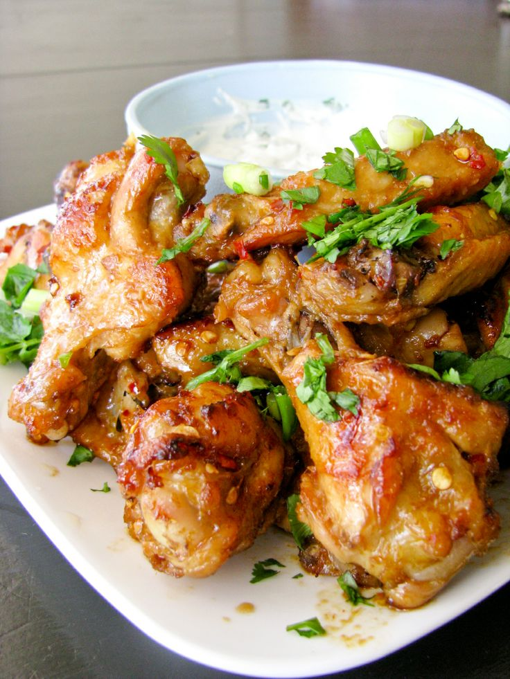 Citrus Spicy Wings | Recipe