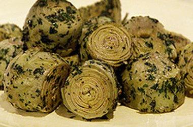 Sauteed Baby Artichokes | Yummy veggies | Pinterest
