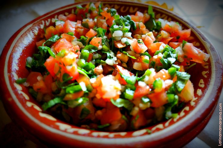 Pico de Gallo Salsa | Recipes | Pinterest