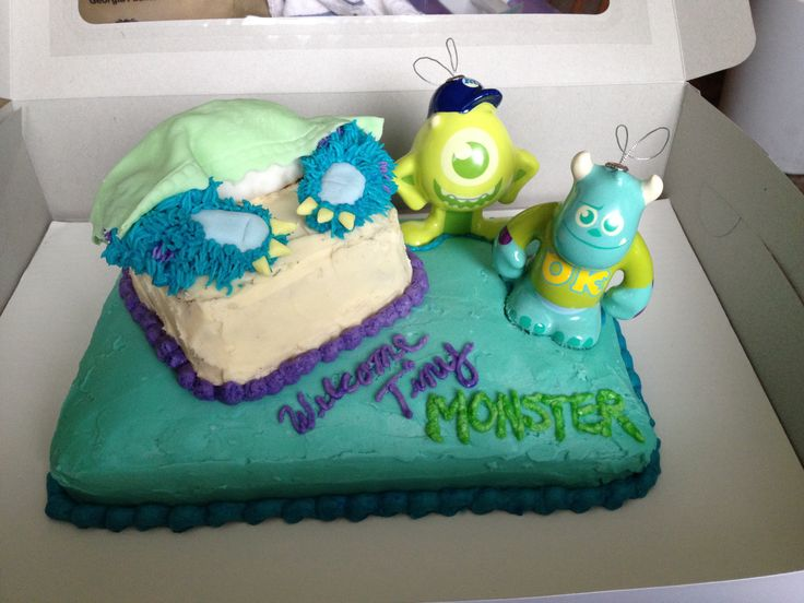 monster inc baby shower cake monster inc pinterest