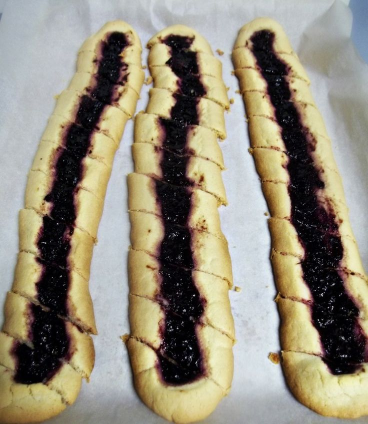 Shortbread Cookies Recipe with Jam Center, AKA Split Second cookies