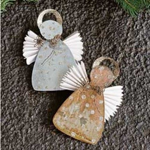 Sparkling Angel Ornaments - Ornaments - Christmas - Seasonal