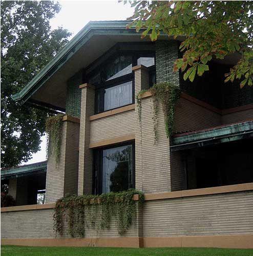 Dana Thomas House By Frank Lloyd Wright Springfield Illinois 1902