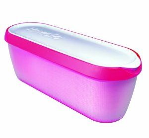 ... Tovolo Glide-A-Scoop Ice Cream Tub - Raspberry Tart: Kitchen & Dining