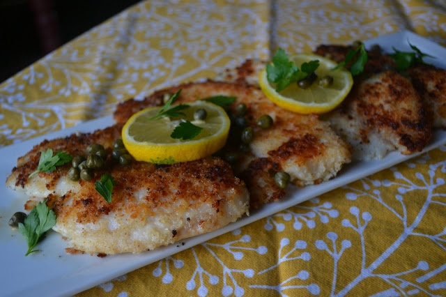 Candy Girl: Tilapia Piccata | yummy main dishes | Pinterest