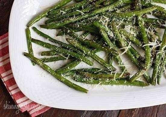roasted parmesan green beans | Food goodness | Pinterest