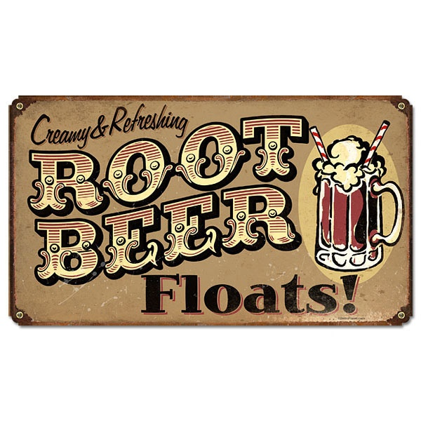 every time my grandkids visit we make root beer floats!