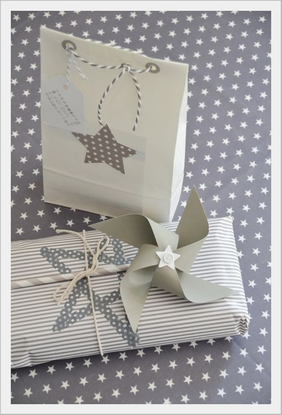 star gift wrapping ♥