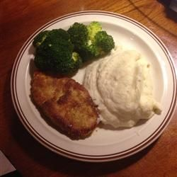 Parmesan Sage Pork Chops Allrecipes.com sub coconut flour for all ...