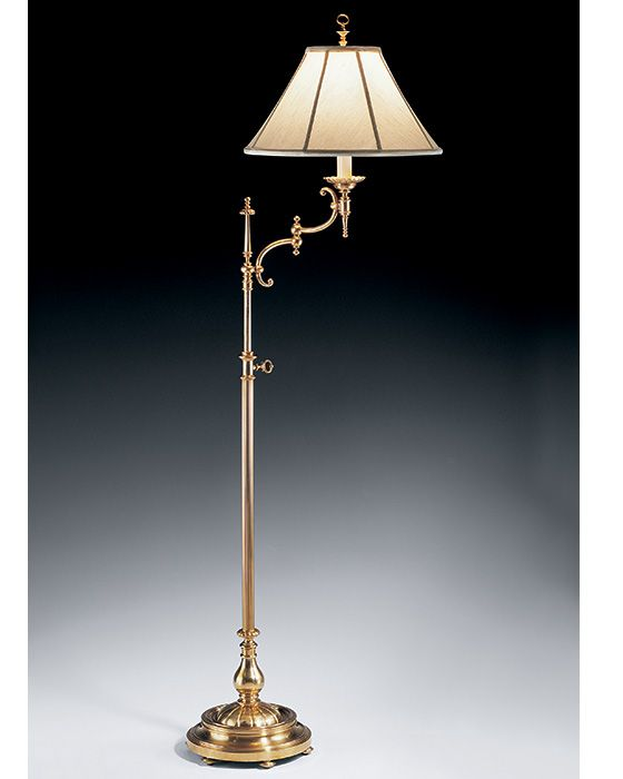 arm floor lamp with adjustable height smart design and classic style. Black Bedroom Furniture Sets. Home Design Ideas